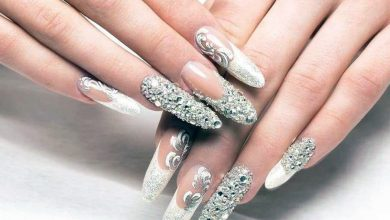 Photo of Diamonds on Fingernails? Yes!